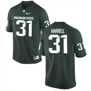 T.J. Harrell Michigan State Spartans Football Mens Game Jerseys - Green