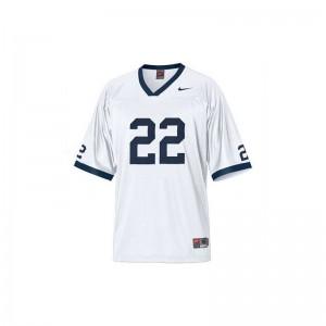 T.J. Rhattigan Nittany Lions College For Men Game Jerseys - White