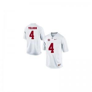 T.J. Yeldon Bama College Mens Game Jerseys - White
