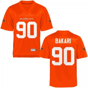 Taaj Bakari OSU Cowboys Player Men Game Jerseys - Orange