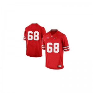 Taylor Decker OSU Alumni For Men Game Jersey - Red