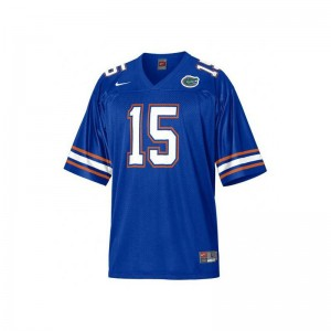 Tim Tebow Florida Gators College Mens Game Jersey - Blue