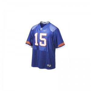 Tim Tebow University of Florida Football Mens Game Jersey - Blue Pro Combat