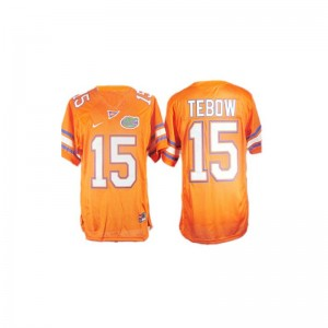 Tim Tebow Florida Player Mens Game Jerseys - Orange