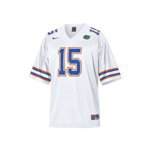 Tim Tebow University of Florida University Youth Limited Jerseys - White