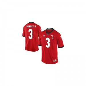 Todd Gurley UGA NCAA Mens Game Jersey - Red