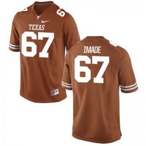Tope Imade Longhorns Player For Men Game Jersey - Orange