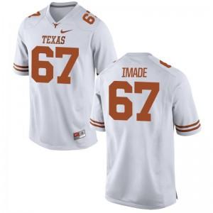 Tope Imade University of Texas NCAA Men Game Jersey - White