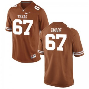 Tope Imade Texas Longhorns Player For Men Limited Jersey - Orange