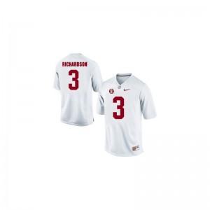 Trent Richardson Alabama Crimson Tide College Men Game Jerseys - White