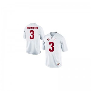 Trent Richardson Alabama Crimson Tide NCAA Mens Limited Jersey - White
