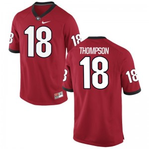 Trenton Thompson UGA Bulldogs Official For Men Limited Jersey - Red