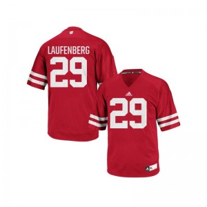 Troy Laufenberg Wisconsin Badgers Official For Kids Authentic Jersey - Red