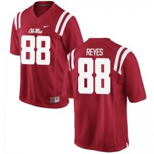 Ty Reyes Ole Miss University Men Limited Jersey - Red