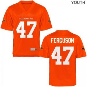 Tyler Ferguson Oklahoma State Cowboys NCAA Youth(Kids) Game Jersey - Orange