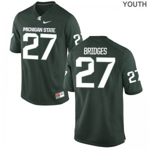 Weston Bridges Spartans College Youth Limited Jerseys - Green