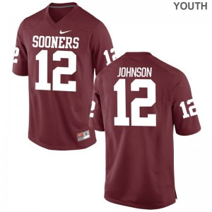 Will Johnson OU Alumni Youth(Kids) Game Jerseys - Crimson