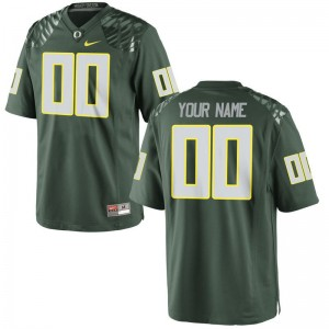 University of Oregon NCAA For Kids Limited Custom Jersey - Green