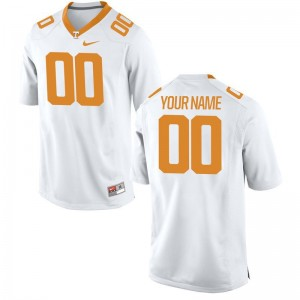 Tennessee Vols Football Youth(Kids) Limited Customized Jerseys - White
