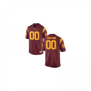 Trojans University Kids Limited Customized Jersey - Cardinal