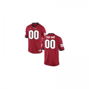 UGA Bulldogs University Youth Limited Customized Jersey - Red