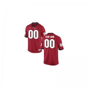 UGA Bulldogs University Youth Limited Customized Jersey - Red