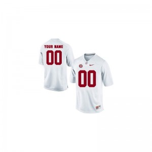 Alabama Crimson Tide Alumni For Kids Limited Custom Jersey - White