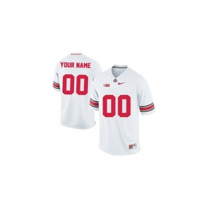 OSU Buckeyes College Youth Limited Customized Jersey - White