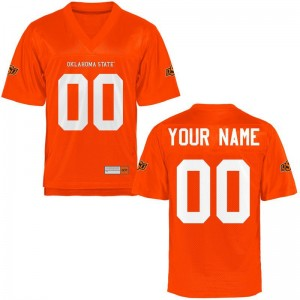 Oklahoma State University For Kids Customized Jerseys - Orange