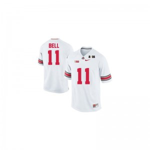 Vonn Bell OSU College For Kids Limited Jerseys - #11 White Diamond Quest 2015 Patch