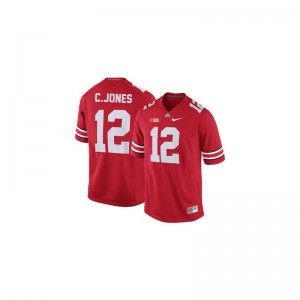 Cardale Jones OSU Football For Kids Game Jerseys - #12 Red
