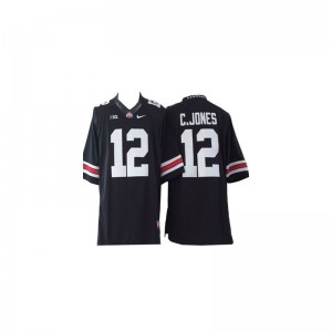 Cardale Jones Ohio State High School Kids Limited Jerseys - #12 Black