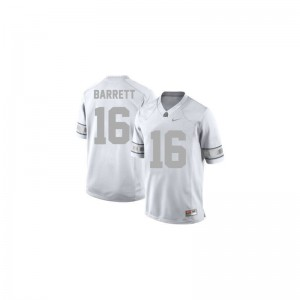 J.T. Barrett Ohio State University For Kids Limited Jersey - #16 Platinum