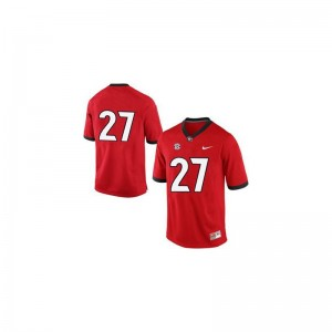 Nick Chubb UGA NCAA For Kids Limited Jersey - #27 Red
