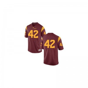 Ronnie Lott USC Trojans Football For Kids Limited Jerseys - #42 Cardinal