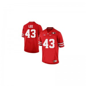 Darron Lee Ohio State Buckeyes High School Youth Game Jersey - #43 Red Diamond Quest 2015 Patch