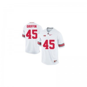 Archie Griffin OSU Buckeyes High School For Kids Game Jerseys - #45 White