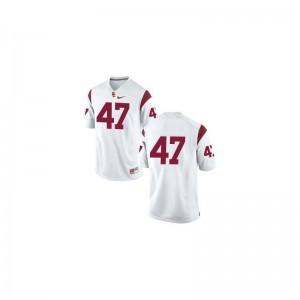 Clay Matthews Trojans University For Kids Game Jersey - #47 White