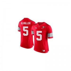 Braxton Miller Ohio State Player For Kids Game Jersey - #5 Red Diamond Quest 2015 Patch