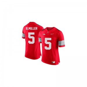 Braxton Miller OSU High School Kids Game Jersey - #5 Red Diamond Quest Patch