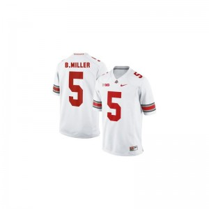 Braxton Miller Ohio State Buckeyes College Youth(Kids) Game Jersey - #5 White