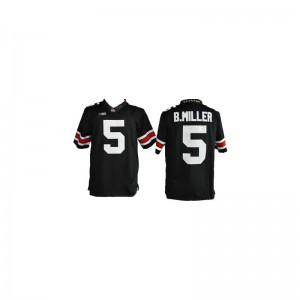 Braxton Miller Ohio State Player Youth Limited Jerseys - #5 Black