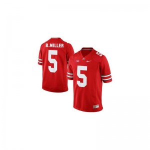 Braxton Miller Ohio State NCAA Youth(Kids) Limited Jerseys - #5 Red