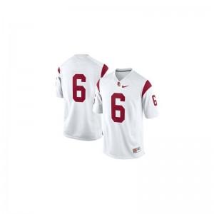 Cody Kessler Trojans NCAA For Kids Limited Jersey - #6 White