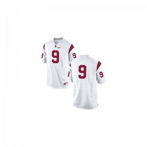 JuJu Smith-Schuster Trojans NCAA For Kids Game Jersey - #9 White