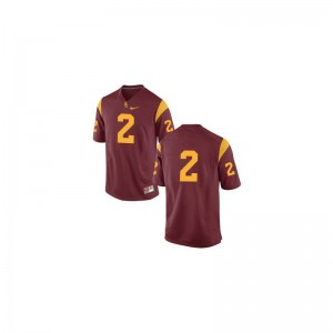 Adoree' Jackson Trojans High School For Kids Game Jersey - #Cardinal