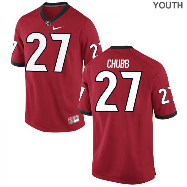 nick chubb uga football jersey